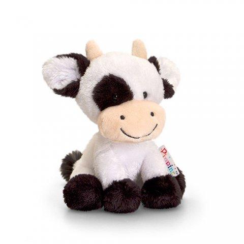 Keel Toys - Пипинс, Плюшена играчка, Крава,14см