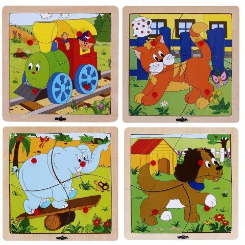 Woody -  Бебешки пъзел - Веселото Влакче