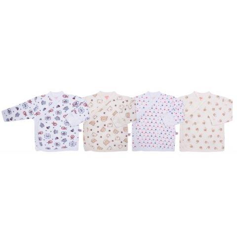 Sevi Baby - Шарена блузка  с  предно  закопчаване