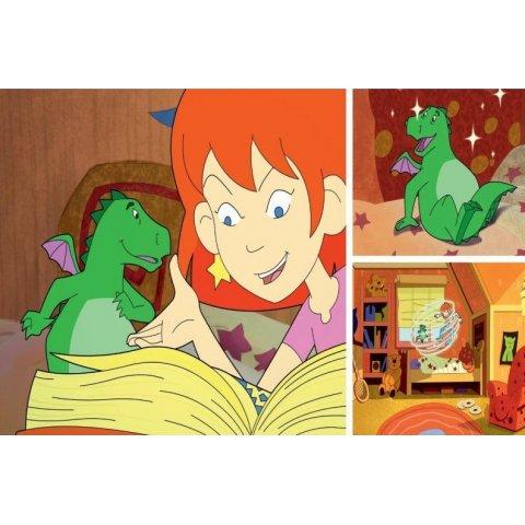 Ravensburger -   Детски пъзел Лили чудото, дракона и магическата книга