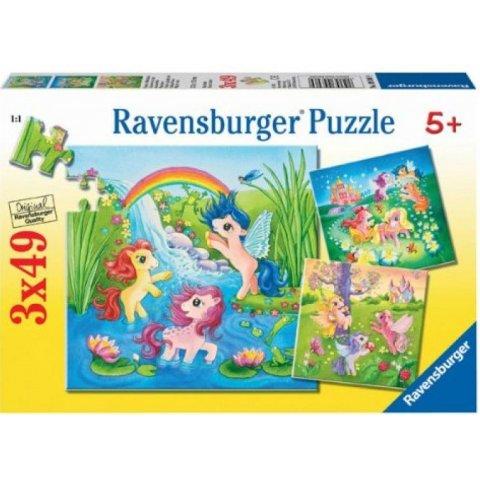 Ravensburger -  Детски пъзел Понита в приказна страна