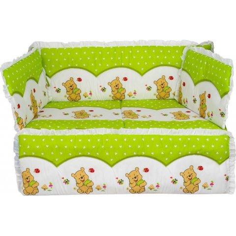 Aras bebe - Спален комплект за бебешко легло PANO