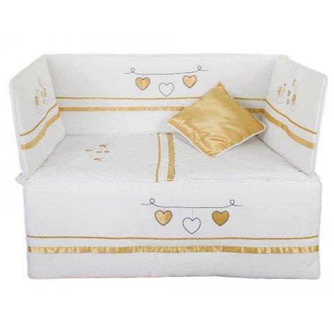 Aras bebe - Спален  комплект  за  бебешко  легло ''BEIZA''