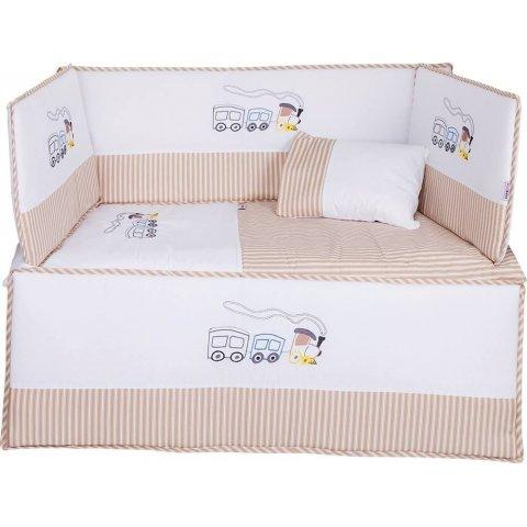 Aras bebe - Спален  комплект  за  бебешко  легло ''FRAN''