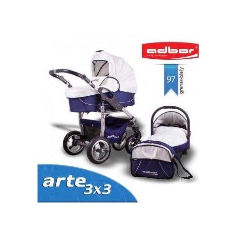 Бебешка количка Arte  3x3 Цвят 97