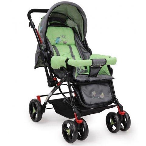 Moni - Комбинирана детска количка Mina Зелена