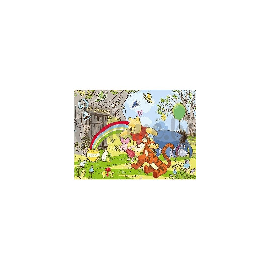 Ravensburger -  Детски пъзел Супер Играта на Мечо Пух