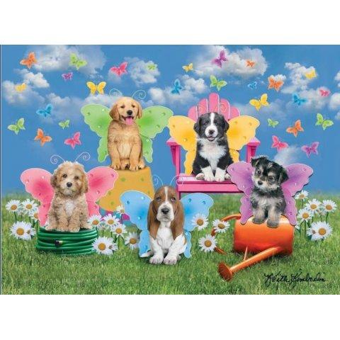 Ravensburger -  Детски пъзел Супер Крилати кучета