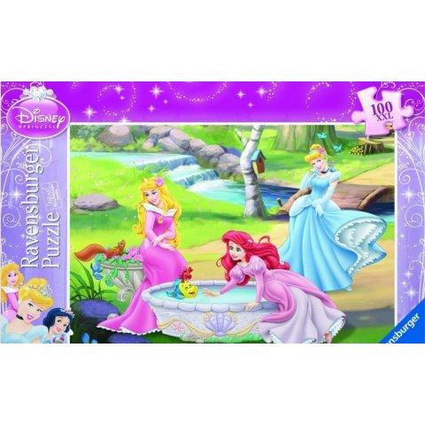 Ravensburger - Детски пъзел Супер Принцесите на Дисни край реката