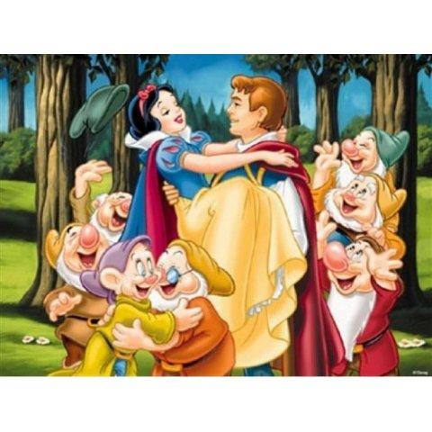 Ravensburger - Снежанка с принца и седемте джуджета