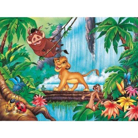 Ravensburger -Детски пъзел Супер Цар Лъв: Забавление в джунглата