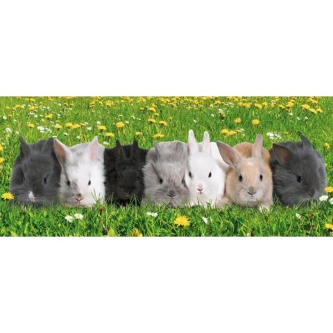 Ravensburger - Детски пъзел Супер Парад на зайчета