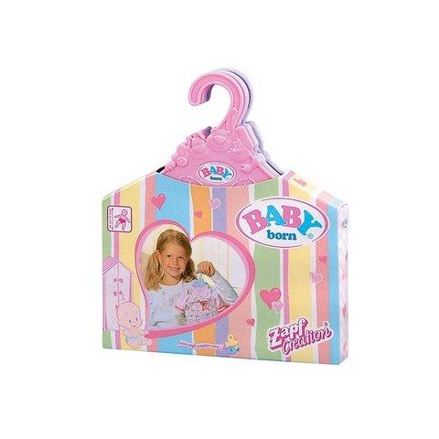 Baby Born - Закачалки за дрехи на кукли 5бр.
