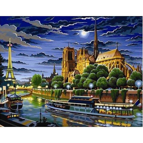 KSG Craft - Рисуване по номера - голям размер Париж