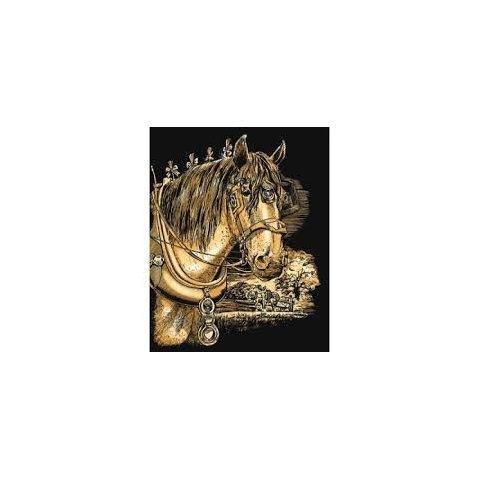 KSG Craft - Златна гравюра на Кон