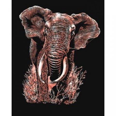 KSG Craft - Медна гравюра на Слон