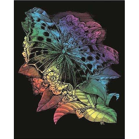 KSG Craft - Цветна гравюра Пеперуда