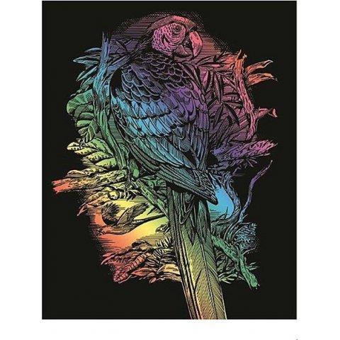 KSG Craft - Цветна гравюра Папагал