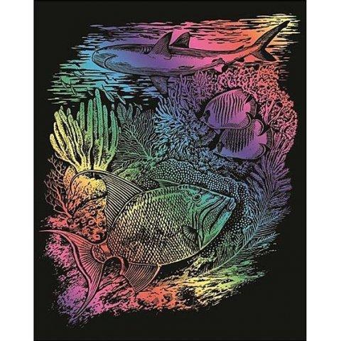 KSG Craft - Цветна гравюра Морско дъно