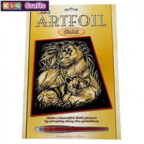 KSG Craft - Златна гравюра на Лъвове
