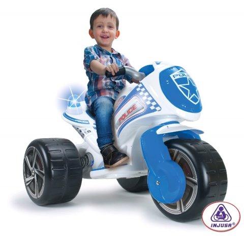 INJUSA - Акумулаторен мотор - Tribike Waves Police