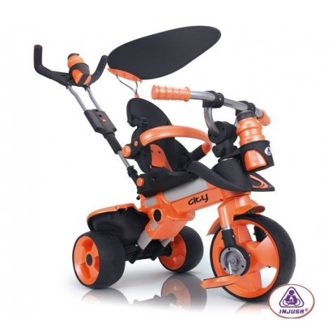 INJUSA - Триколка City Trike - Оранжева