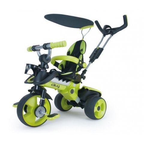 INJUSA - Триколка City Trike - Зелена