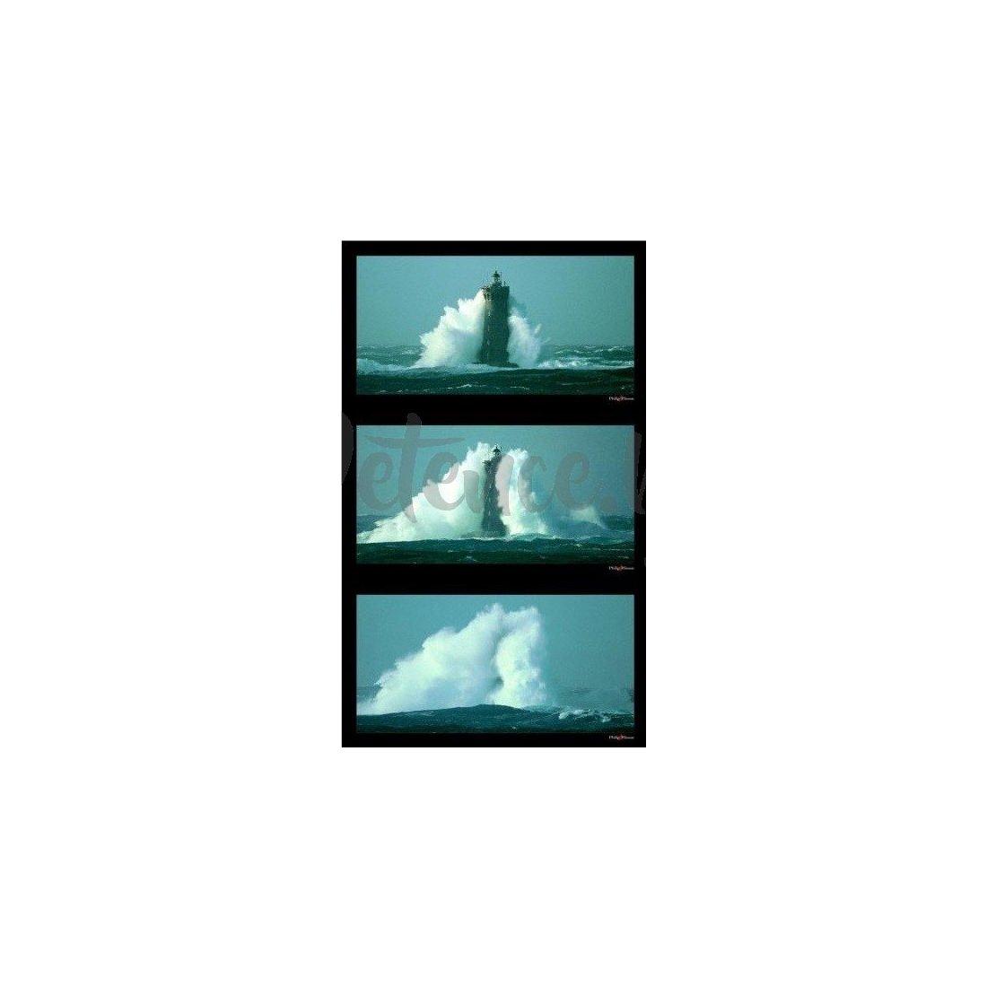 Ravensburger - Пъзел 3Х500 елемента Морски фар в буря