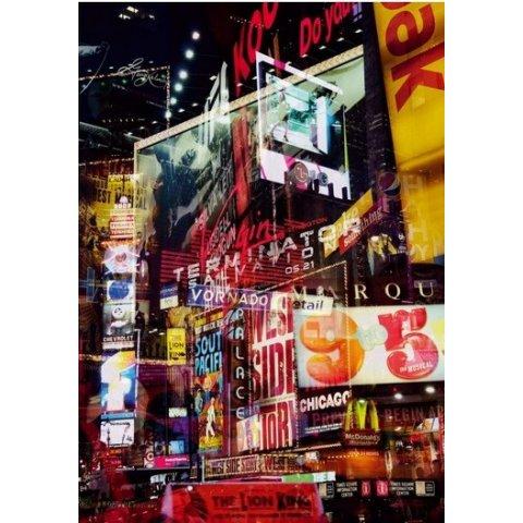 Ravensburger - Пъзел 1000 елемента Неонови светлини Ню Йорк