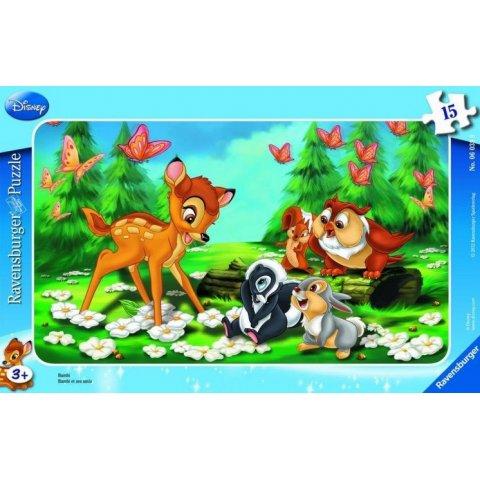 Ravensburger - Пъзел Disney Бамби с приятели