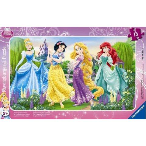 Ravensburger - Пъзел Disney Принцесите на Дисни на разходка