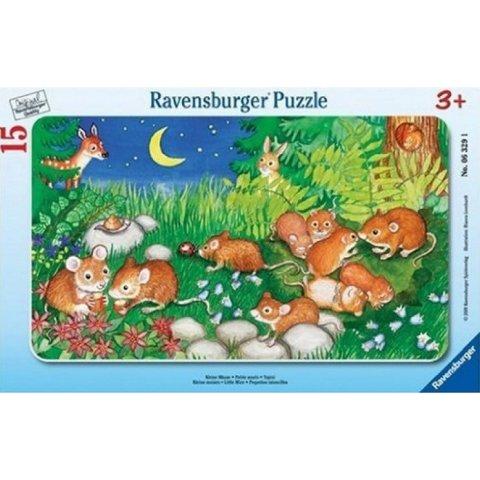 Ravensburger - Пъзел 15 елемента Мишлета в гората