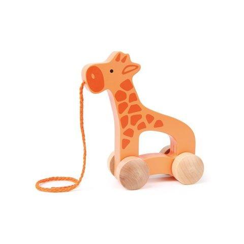 Hape-Дървена играчка жираф