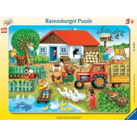 Ravensburger - Пъзел 8-17 елемента Ферма