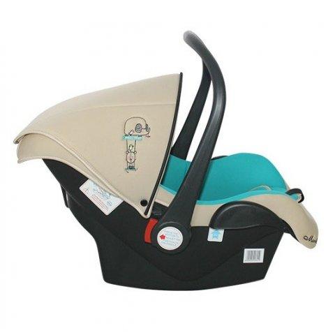 Moni - Кошница за кола Babytravel 0-13kg - Синьо
