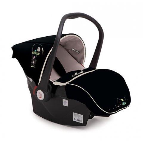 Moni - Кошница за кола Babytravel 0-13kg - Бежов