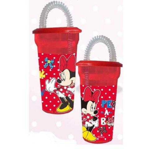 Чаша с капак и сламка - 3499011