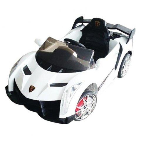 Акумулаторна кола Lamborghini - Бяла