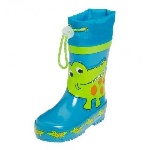 Playshoes - Детски гумени ботуши - Крокодил
