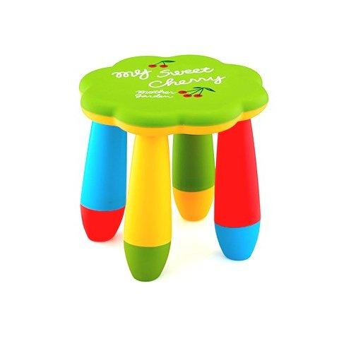 Детско столче цвете - Зелено