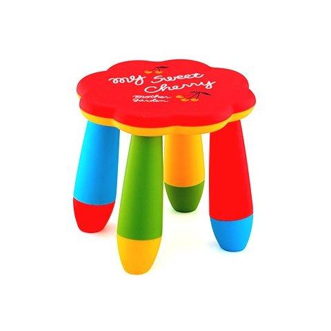 Детско столче цвете - Червено