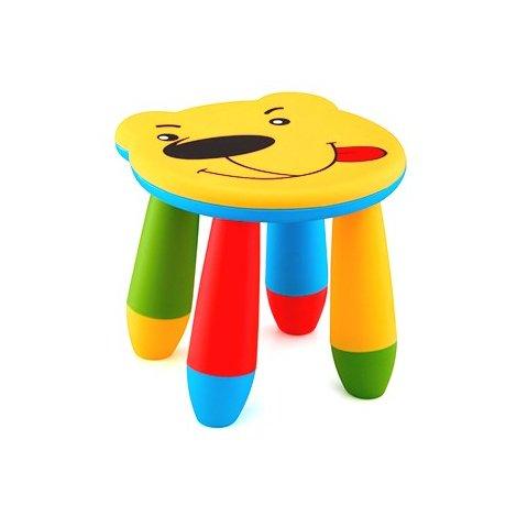 Детско столче Мече - Жълто