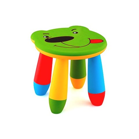 Детско столче Мече - Зелено