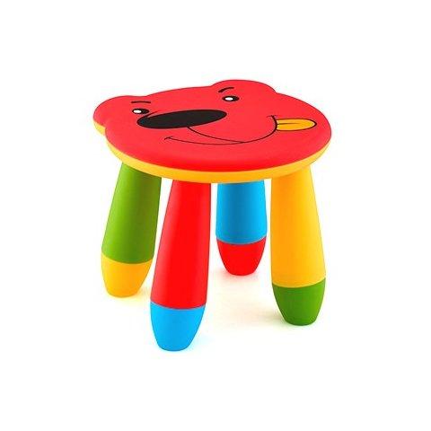 Детско столче Мече - Червено