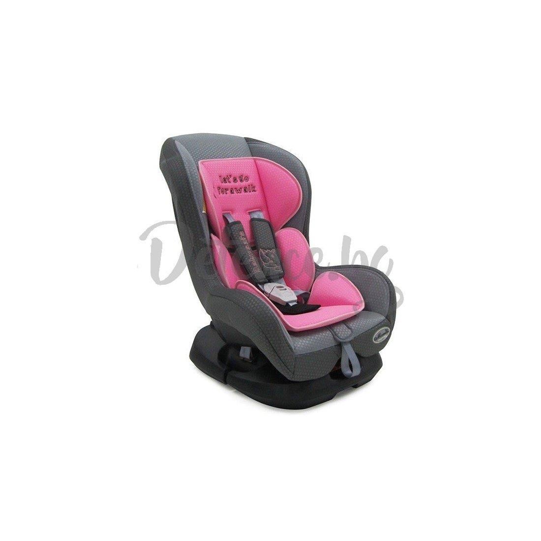 Moni - Столче за кола Babysafe 2013 - Розово
