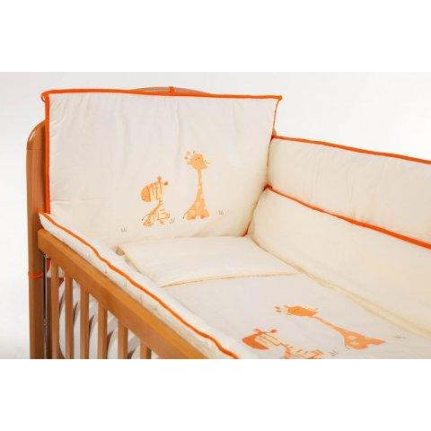 Baby Hit - Спален комплект - 8 части - Жираф