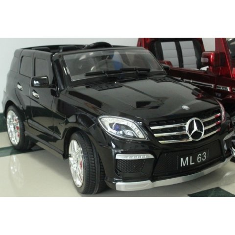 Акумулаторен джип - Mercedes ML 350 AMG - Черен Металик