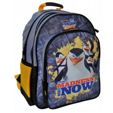 PASO - Ученическа раница Disney the penguins of madagaskar