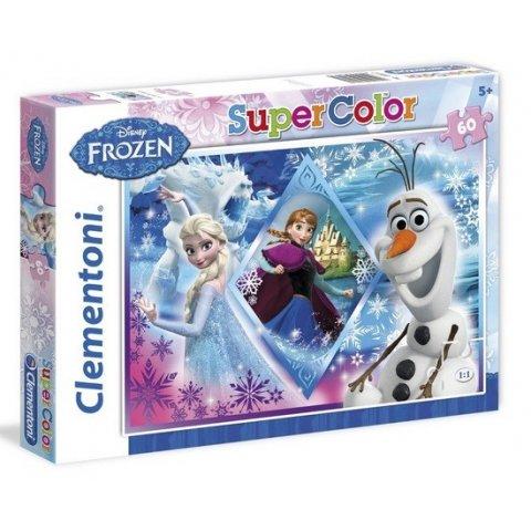 Clementoni - Пъзел 60 ч. Frozen