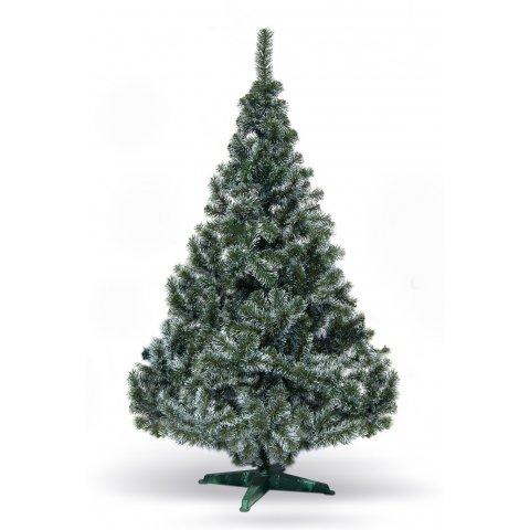 Коледна елха с бял връх - София 180см